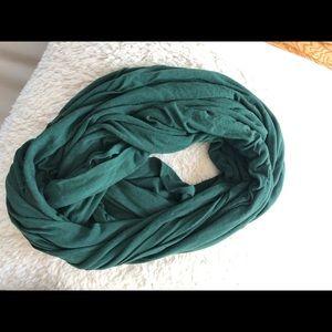 American Apparel sheer infinity scarf